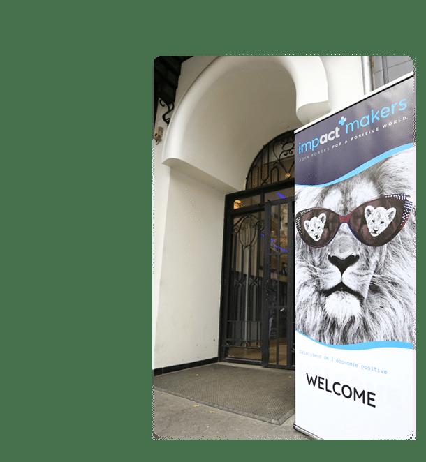 Entrée de l'événement Impact Makers Paris 2019